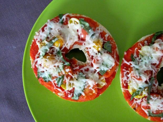 pizza bagels 3