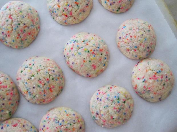 funfetti cookies 3