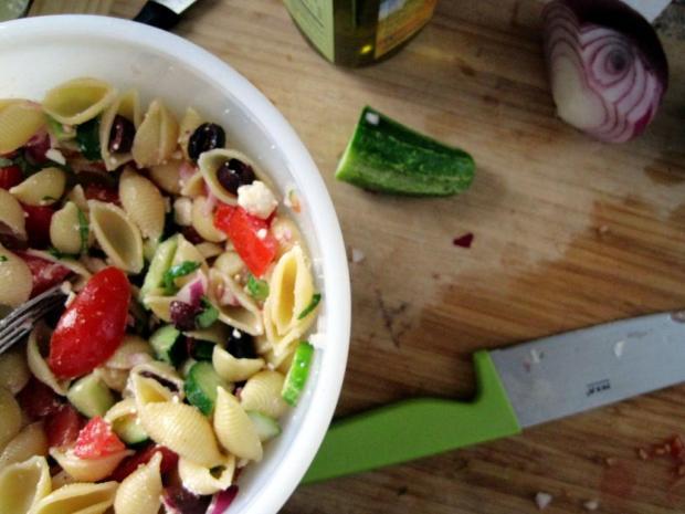greek pasta salad 2