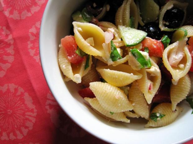 greek pasta salad 5