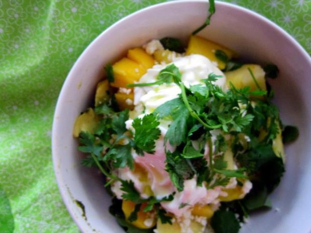 mango pineapple salad 1