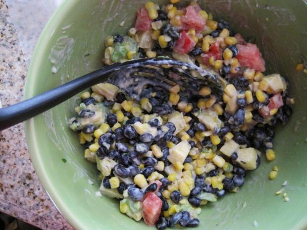 pineapple bean salad 3