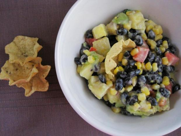 pineapple bean salad 5