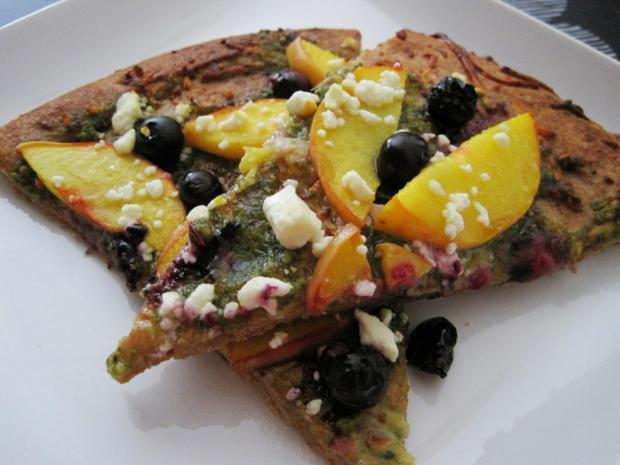 blueberry peach pizza 4