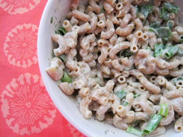 creamy dill pasta salad 4