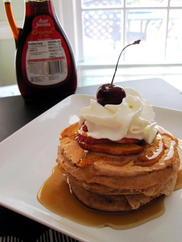 peaches and cream pancakes 5