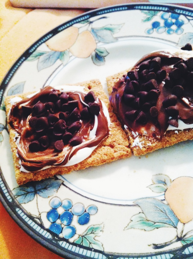 s'mores crackers