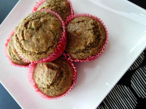 zucchini muffins 2