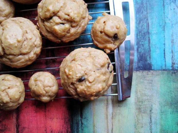 pb banana choc muffins 2