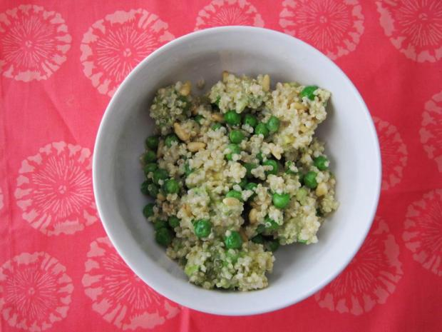 pea and avocado quinoa 1