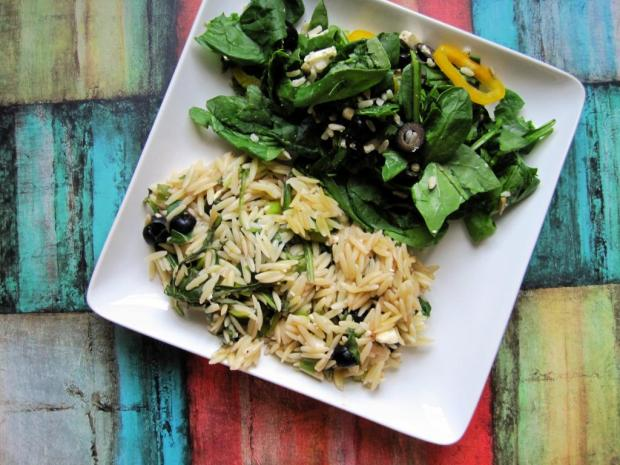spinach orzo bake 4