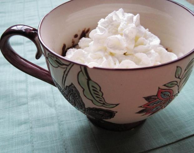 brownie in a mug 3