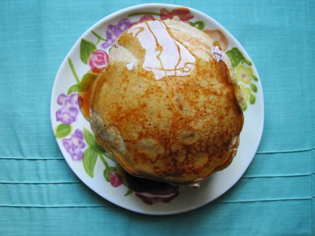 cinnamon apple pancakes 2