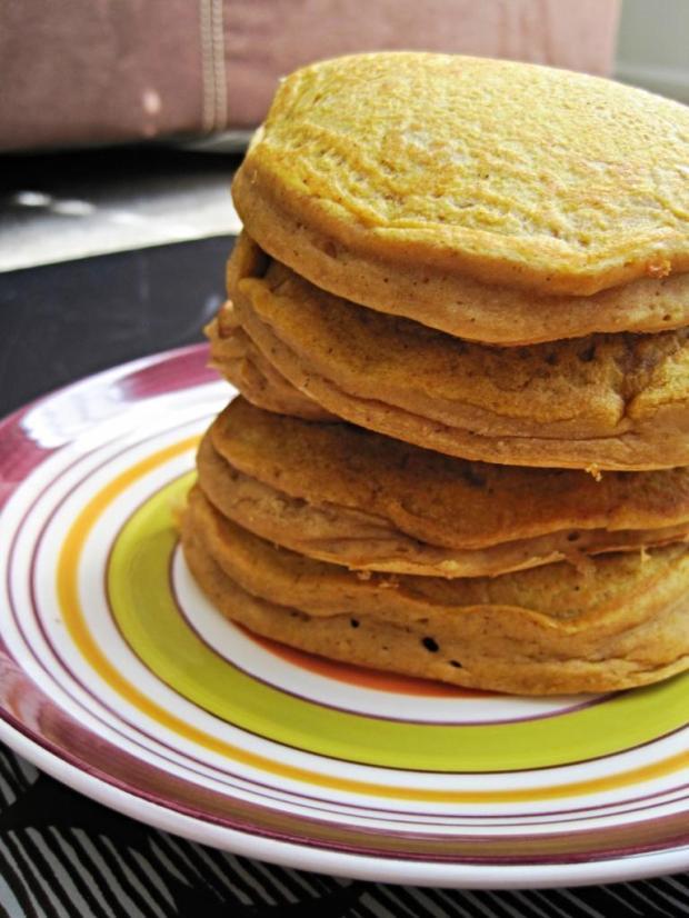 pumpkin spice pancakes 2