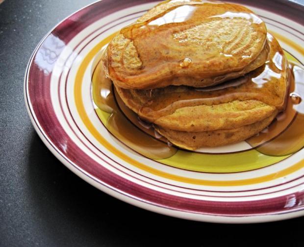 pumpkin spice pancakes 4