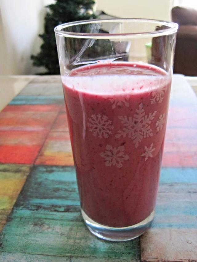 Banana Berry Smoothie 1