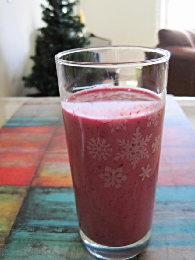 banana berry smoothie 3