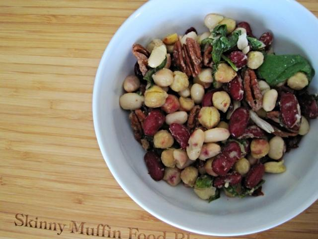 fall bean salad 3