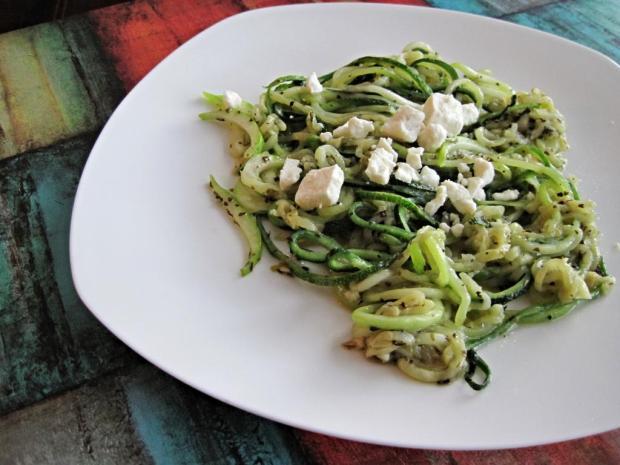 zucchini spaghetti 1