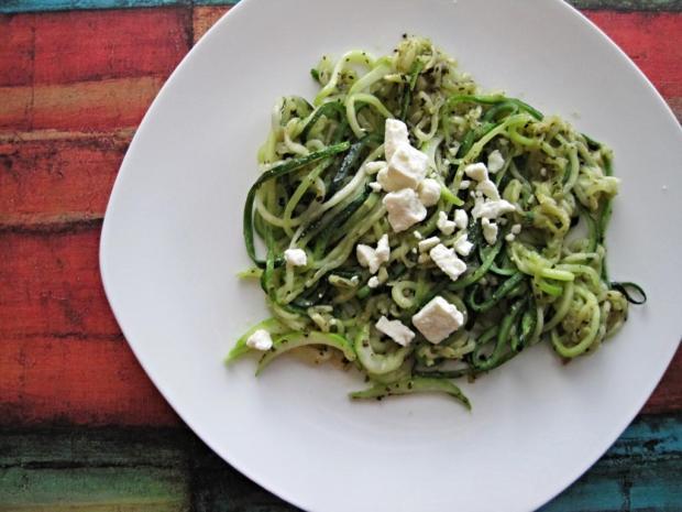 zucchini spaghetti 4
