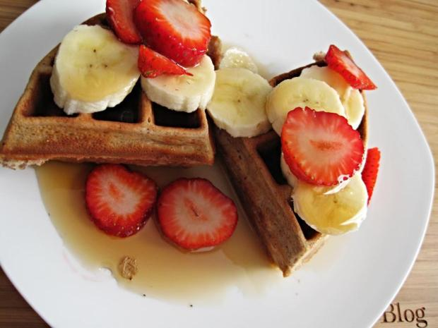 protein waffles 5