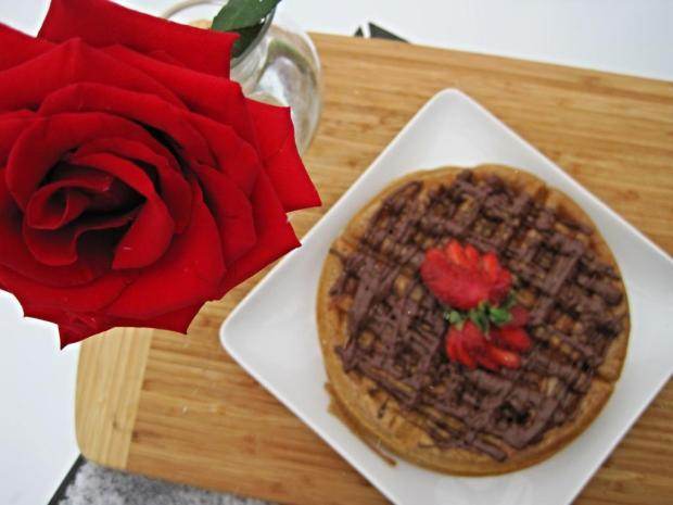 strawberry waffles 4