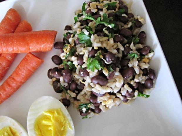 cheesy black bean rice 2