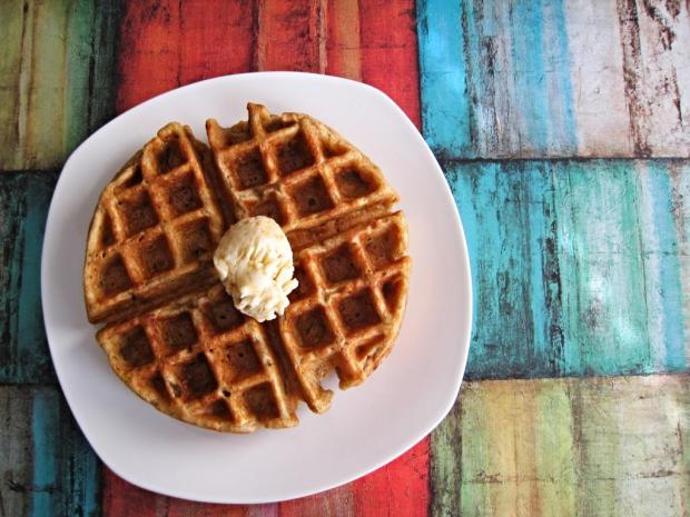 gingerbread waffles 1