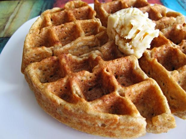 gingerbread waffles 3