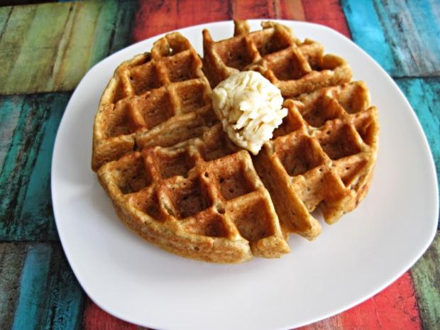 gingerbread waffles 4