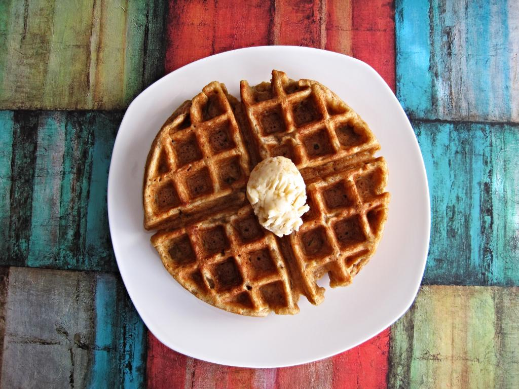 Gingerbread Waffles With Vanilla Bean-Orange Butter Recipes ...