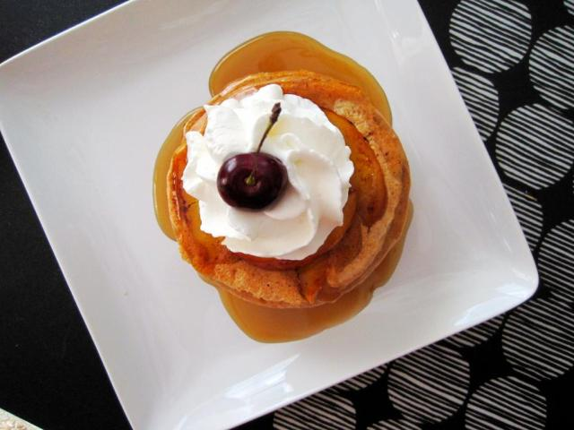 peaches and cream pancakes 4