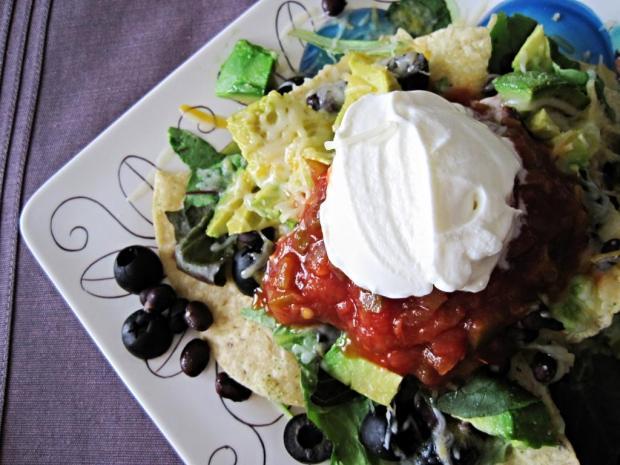 veggie nachos 4