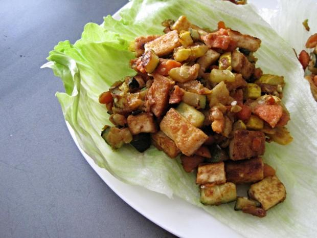 asian lettuce wraps 4
