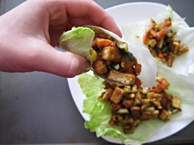 asian lettuce wraps 5