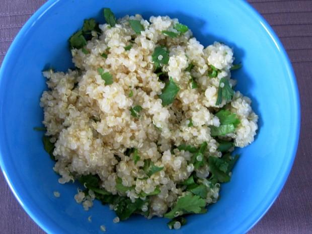 cilantro quinoa 2