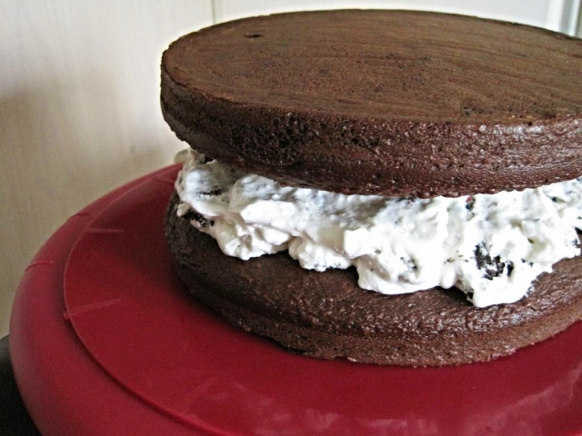 Cake Batter Oreo Chocolate Cake