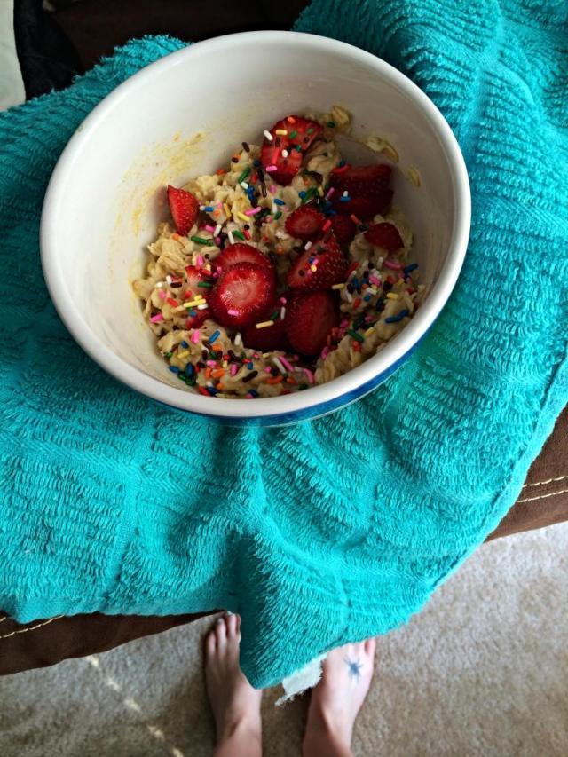cake batter oats 3r