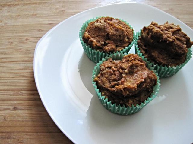 healthy pumpkin muffins 2