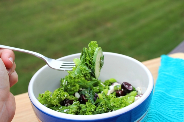 greek kale salad 3