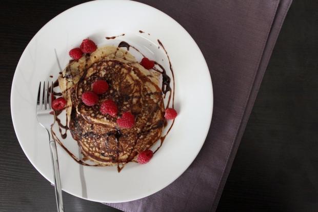 Berry Protein Pancakes 1