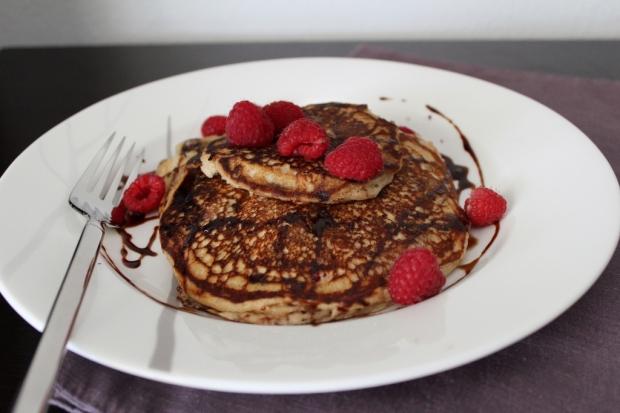 Berry Protein Pancakes 2