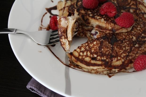Berry Protein Pancakes 4